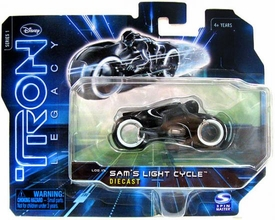 Tron Legacy Series 1 Die Cast Vehicle Sams Light Cycle