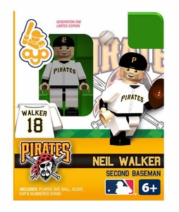 OYO Baseball MLB Building Brick Minifigure Neil Walker [Pittsburgh Pirates]