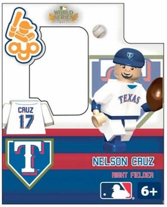OYO Baseball MLB Building Brick World Series 2011 Minifigure Nelson Cruz [Texas Rangers]
