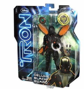 Tron Legacy 6 Inch Deluxe Feature Action Figure Black Guard