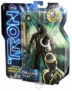 Tron Legacy 6 Inch Deluxe Feature Action Figure Clu