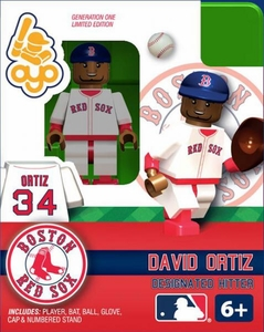 OYO Baseball MLB Building Brick Minifigure David Ortiz [Boston Red Sox]