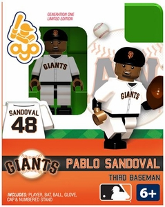 OYO Baseball MLB Building Brick Minifigure Pablo Sandoval [San Francisco Giants]