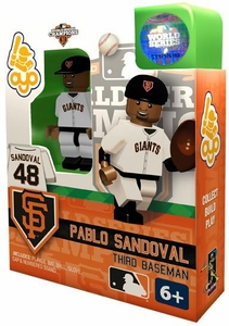 OYO Baseball MLB Building Brick Minifigure 2012 World Series Champions Pablo Sandoval [San Francisco Giants]