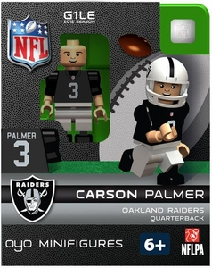 OYO Football NFL Building Brick Minifigure Carson Palmer [Oakland Raiders]