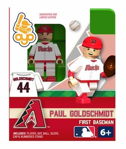 OYO Baseball MLB Building Brick Minifigure Paul Goldschmid [Arizona Diamondbacks]