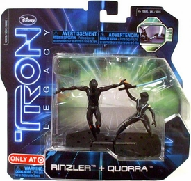 Tron Legacy Series 1 Exclusive Figure 2-Pack Rinzler & Quorra