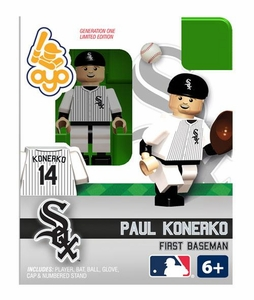 OYO Baseball MLB Building Brick Minifigure Paul Konerko [Chicago White Sox]
