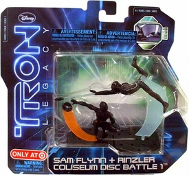 Tron Legacy Series 1 Exclusive Figure 2-Pack Sam Flynn & Rinzler Coliseum Disc Battle 1