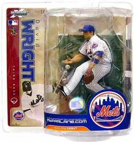 McFarlane Toys MLB Sports Picks Series 18 Action Figure David Wright (New York Mets) White Jersey