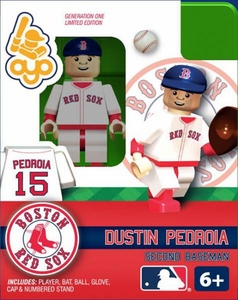 OYO Baseball MLB Building Brick Minifigure Dustin Pedroia [Boston Red Sox]