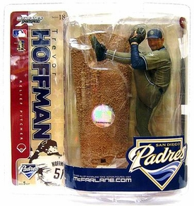 McFarlane Toys MLB Sports Picks Series 18 Action Figure Trevor Hoffman (San Diego Padres) Chase Piece