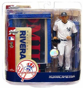 McFarlane Toys MLB Sports Picks Series 18 Action Figure Mariano Rivera (New York Yankees) Full Bullpen Variant All Time Saves Leader!