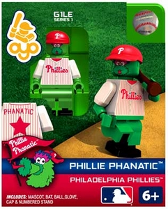 OYO Baseball MLB Building Brick Minifigure Phillie Phanatic [Philidelphia Phillies]