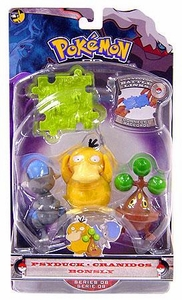 Pokemon Diamond & Pearl Series 8 Basic Figure 3-Pack Psyduck, Bonsly & Cranidos