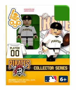 OYO Baseball MLB Building Brick Collector Series Minifigure Player 00 [Pittsburgh Pirates]