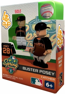 OYO Baseball MLB Building Brick Minifigure Spring Training Buster Posey [San Francisco Giants]