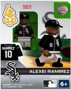 OYO Baseball MLB Generation 2 Building Brick Minifigure Alexei Ramirez [Chicago White Sox]