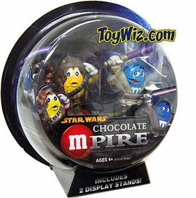 Star Wars Revenge of the Sith Galactic M&M-Pire Figure 2-Pack Chewbacca & Mace Windu