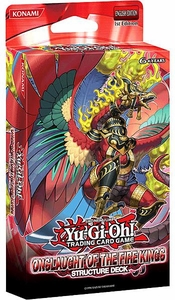 YuGiOh Onslaught of the Fire Kings 1st EDITION Structure Deck