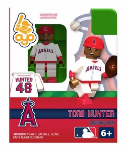 OYO Baseball MLB Building Brick Minifigure Torii Hunter [Angels of Anaheim]]
