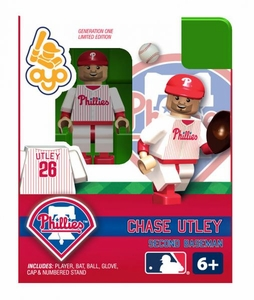 OYO Baseball MLB Building Brick Minifigure Chase Utley [Philadelphia Phillies]