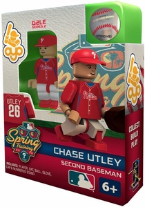 OYO Baseball MLB Building Brick Minifigure Spring Training Chase Utley [Philadelphia Phillies]