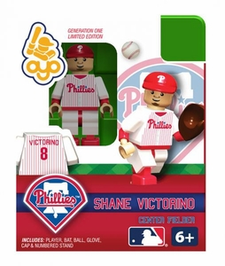 OYO Baseball MLB Building Brick Minifigure Shane Victorino [Philadelphia Phillies]