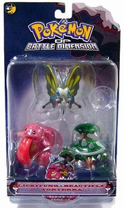 Pokemon Diamond & Pearl Series 12 Basic Figure 3-Pack Lickitung, Beautifly & Torterra