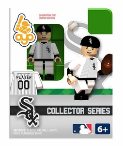 OYO Baseball MLB Building Brick Collector Series Minifigure Player 00 [Chicago White Sox]