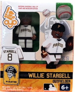 OYO Baseball MLB Building Brick Minifigure Willie Stargell [Pittsburgh Pirates]