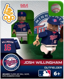 OYO Baseball MLB Generation 2 Building Brick Minifigure Josh Willingham [Minnesota Twins]