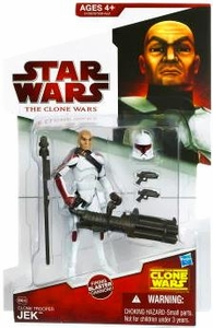 Star Wars 2009 Clone Wars Animated Action Figure CW No. 38 Clone Trooper Jek