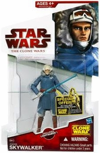 Star Wars 2009 Clone Wars Animated Action Figure CW No. 42 Anakin Skywalker [Cold Weather Gear]