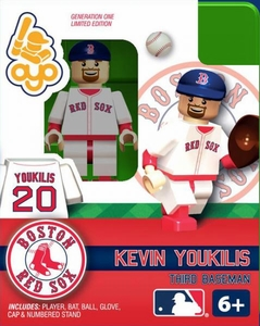 OYO Baseball MLB Building Brick Minifigure Kevin Youkilis [Boston Red Sox]