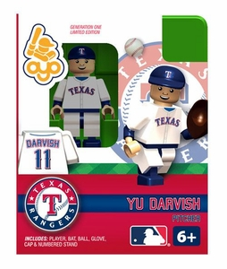 OYO Baseball MLB Building Brick Minifigure Yu Darvish [Texas Rangers]