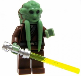 LEGO Star Wars LOOSE Mini Figure Kit Fisto with Lightsaber [New Version]