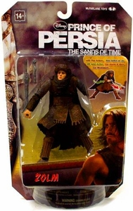 McFarlane Toys Prince of Persia 6 Inch Action Figure Zolm [Lead Hassansin]