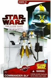 Star Wars 2009 Clone Wars Animated Action Figure CW No. 39 Commander Bly