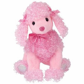 Ty Beanie Baby Pinkys Pinky Poo the Poodle Dog