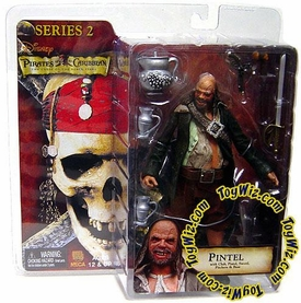 NECA Pirates of the Caribbean Curse of the Black Pearl Series 2 Action Figure Pintel BLOWOUT SALE!