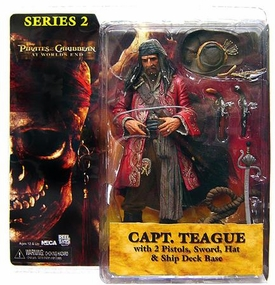 NECA Pirates of the Caribbean At World's End Series 2 Action Figure Captain Teague