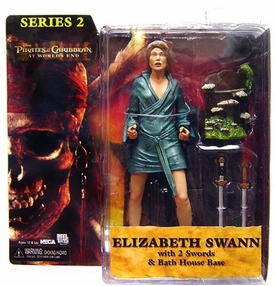 NECA Pirates of the Caribbean At World's End Series 2 Action Figure Elizabeth Swann BLOWOUT SALE!