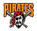 Official MLB Major League Baseball Team Car Magnet 3-Pack Pittsburgh Pirates