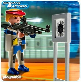 Playmobil Athletes Set #5202 Target Shooter
