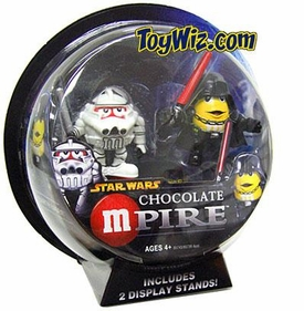 Star Wars Revenge of the Sith Galactic M&M-Pire Figure 2-Pack Clone Trooper & Darth Vader BLOWOUT SALE!