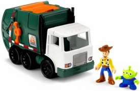 Imaginext Disney / Pixar Toy Story 3 Playset Tri-County Sanitation Garbage Truck