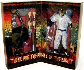 Mezco Toyz Warriors 9 Inch Deluxe Series 1 Cloth Outfit Figure Baseball Fury