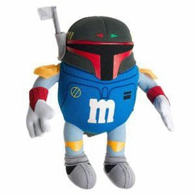 Star Wars Revenge of the Sith Series 2 M-Pire Plush Buddies Figure Boba Fett