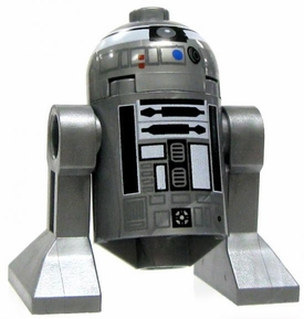 LEGO Star Wars LOOSE Mini Figure R2-Q2 Astromech Droid [Silver]
